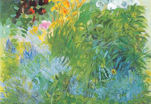 20151023175233-cornelia_foss__summer_garden__2003__oil_on_canvas__36_x_42_in