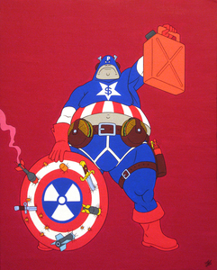20160124182405-captain-patriot_-acrylic-on-panel-canvas_-50x40cm_-2015