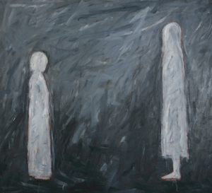 Sisters_face__72x76__oil_on_canvas__2008