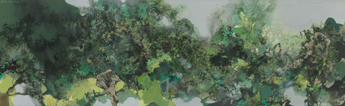 20160623175938-2002_hong_ling-green_mist__pure_breeze_____-oil_on_canvas_250_x_750_cm_2002-taiwan_private_collection