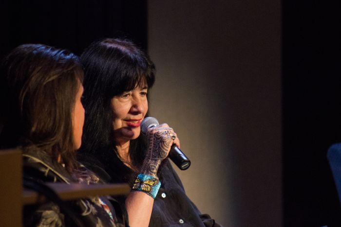 Joy Harjo and Winona LaDuke at ASU West campus