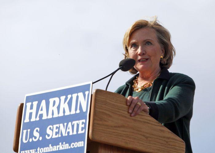 Hillary Clinton's Harkin Steak Fry