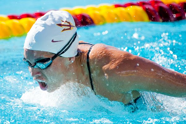 Men Women Both Earn Wins For Asu Swim And Dive Over Denver The State Press