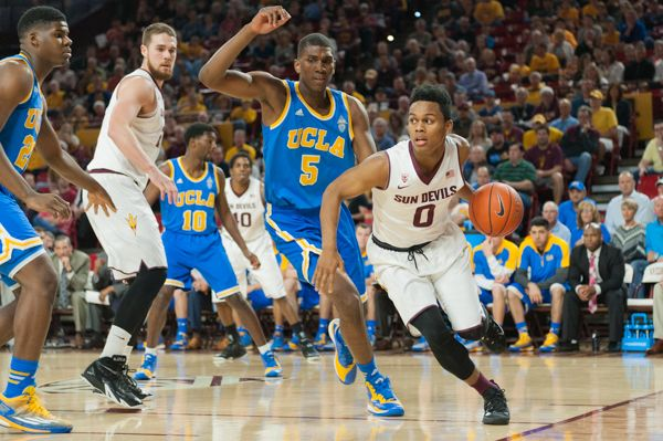 ASU men's basketball can't mount comeback, lose at UCLA