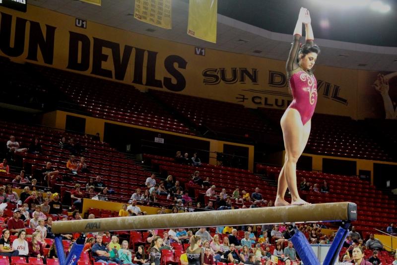 Taylor Allex- women's gymnastics
