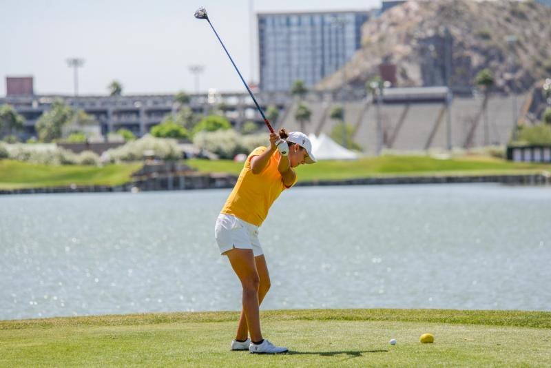 Monica Vaughn- women's golf
