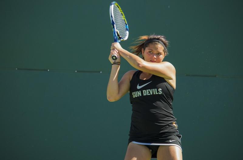 Leighann Sahagun- tennis