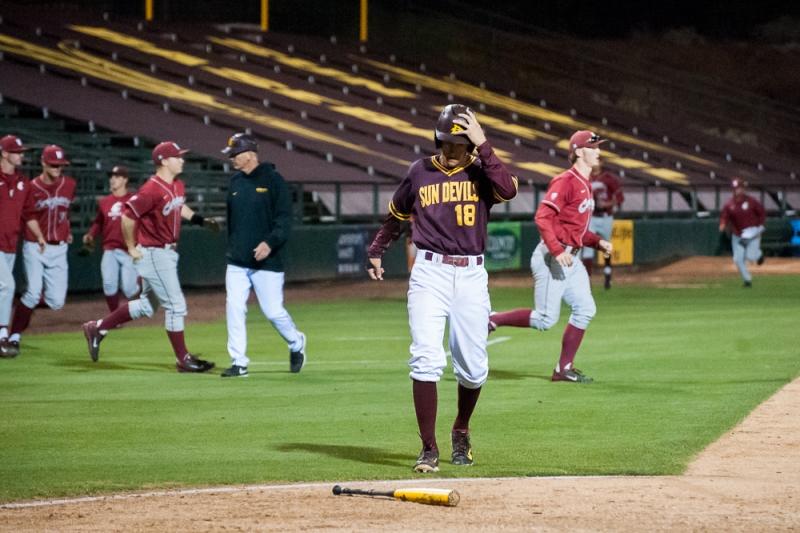 Baseball Johnny Sewald Washington State