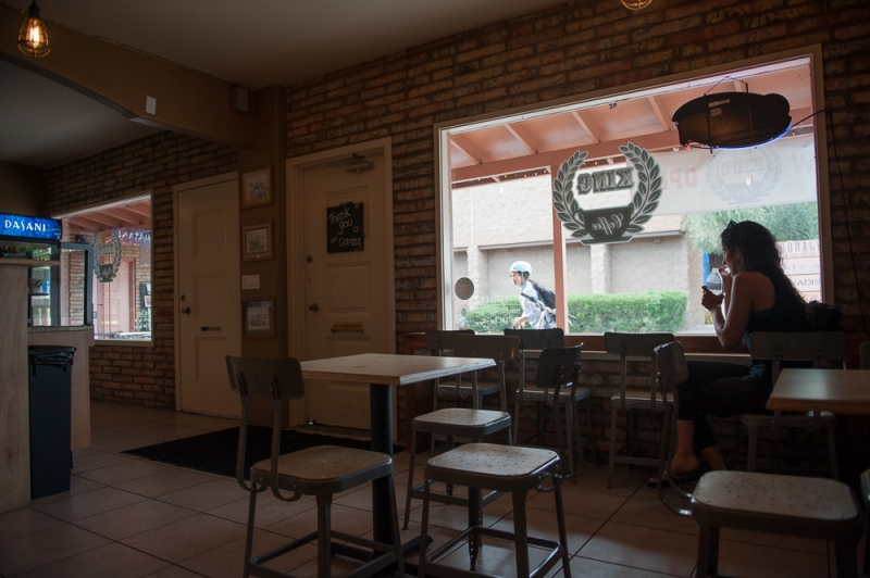 King Coffee interior