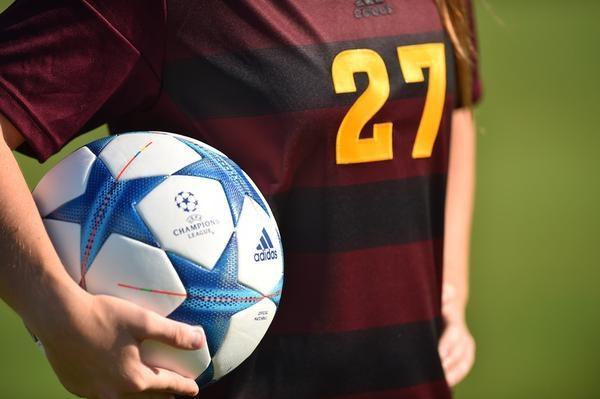 ASU soccer maroon jersey