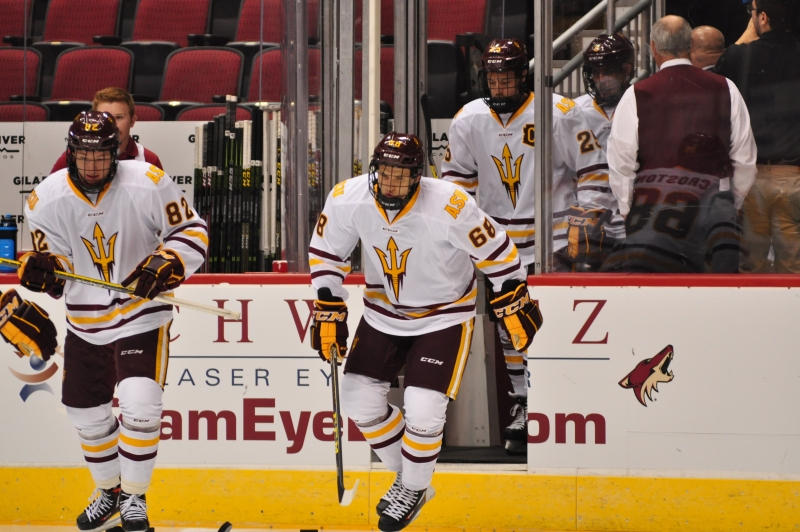 ASU Hockey Skates Onto Ice for First Game of Season