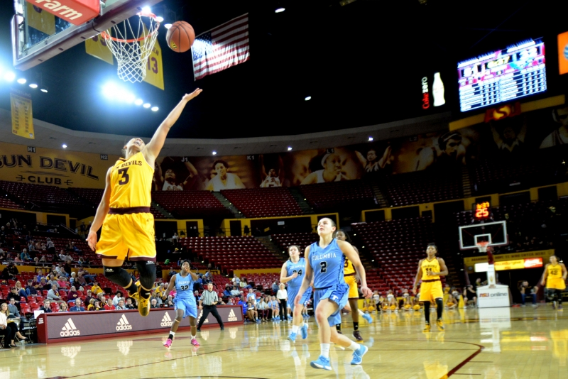 ASU women's basketball surges in second half to crush ...