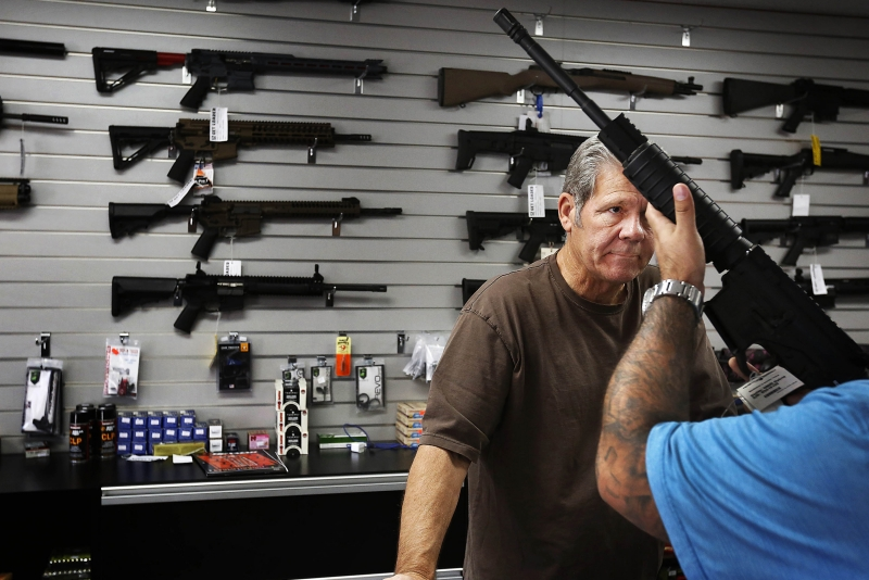 Suddenly, there's a surge in interest to buy guns around San Bernardino