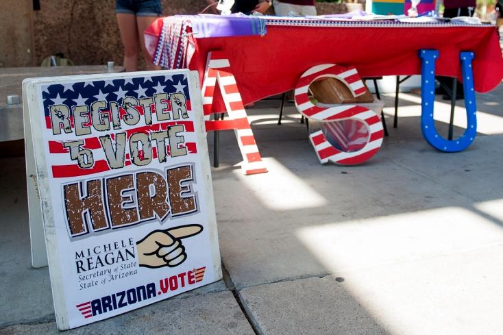Register to Vote on Campus