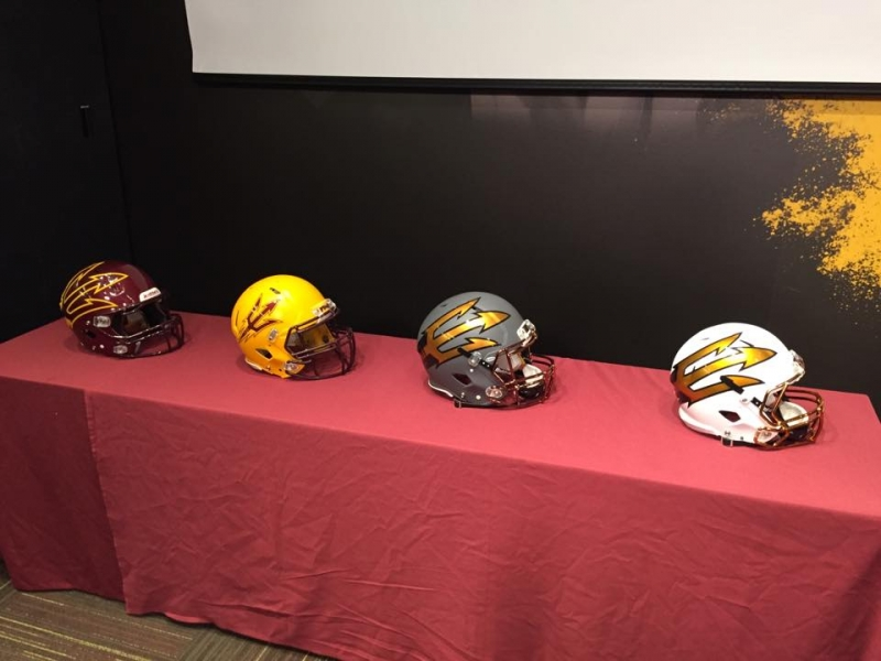 National Signing Day Helmets