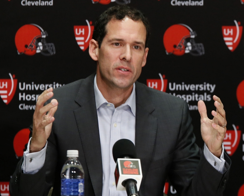 Browns banking on Paul DePodesta's big-picture ideas as he transitions from baseball to NFL