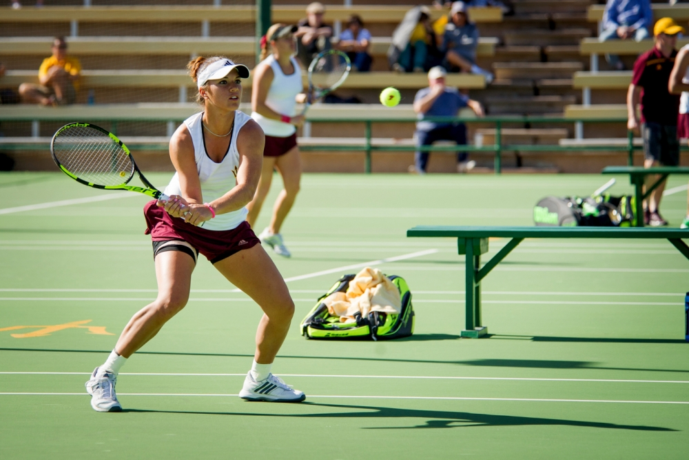 Krawczyk U0026 39 S Tough Schedule Continues As ASU Tennis Visits