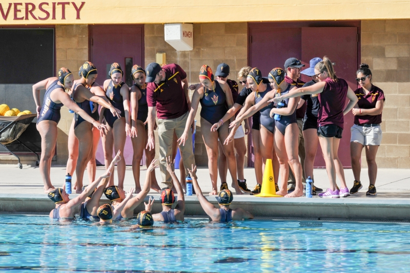 No. 5 Women's Water Polo has high hopes in wake of challenging schedule