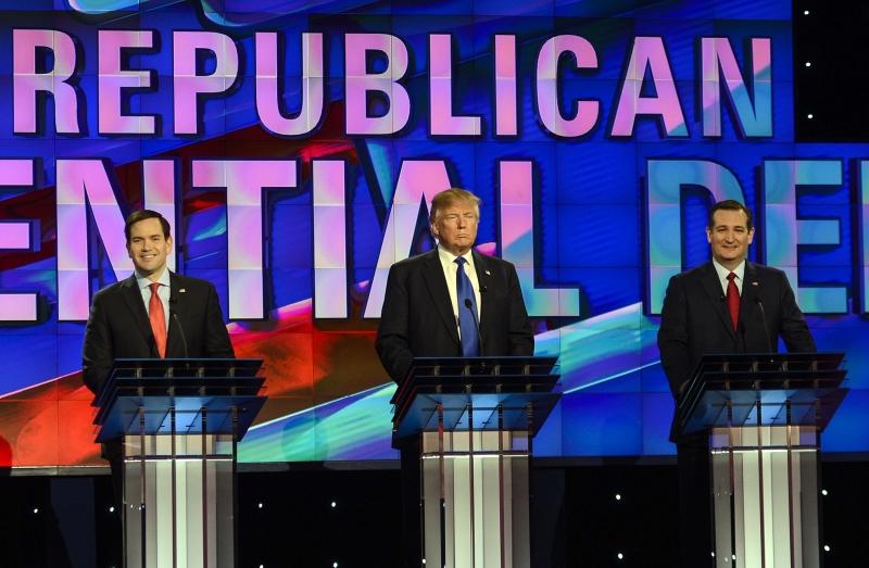 Republican Presidential Candidates Debate In Houston, TX