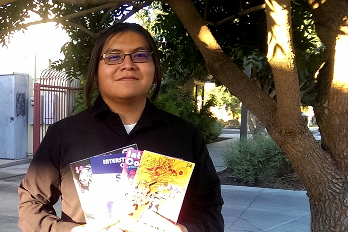 ASU artist Damon Begay finds place in burgeoning comic book community