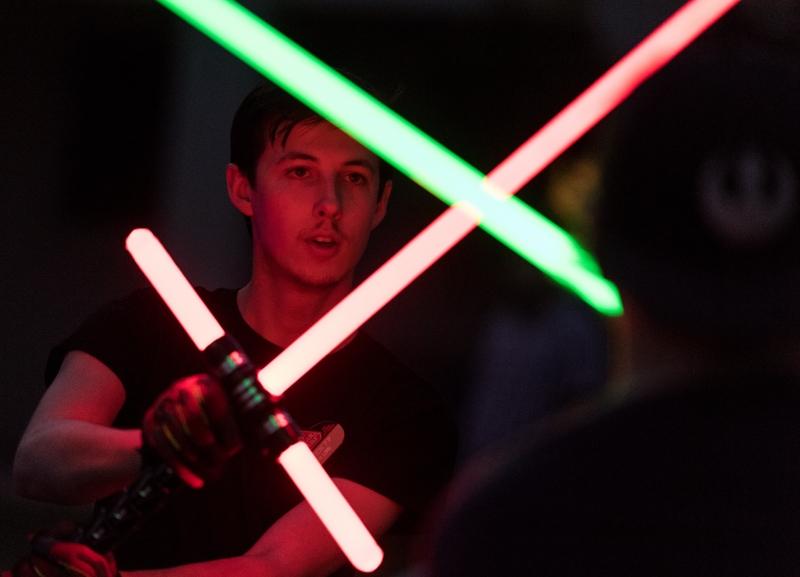Jedi nights: AZ Saber club lights up the evening with sci-fi combat