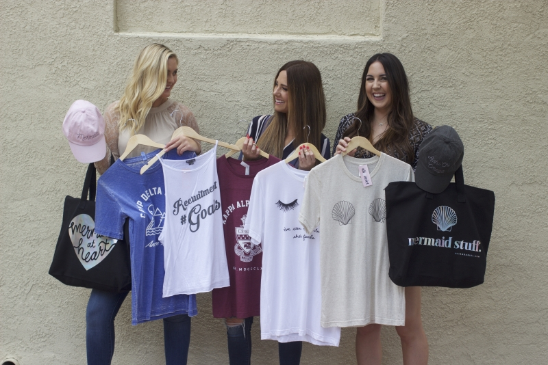 New company delves into the sea of sorority wear