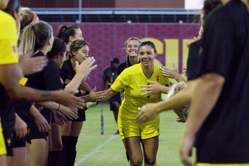 Megan Delaney ASU soccer