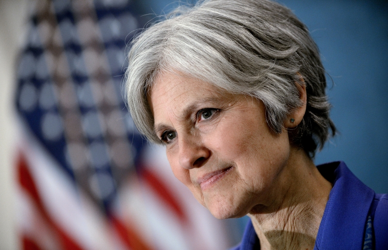 Green Party presidential nominee Jill Stein Makes Announcement On 2016 Race - DC