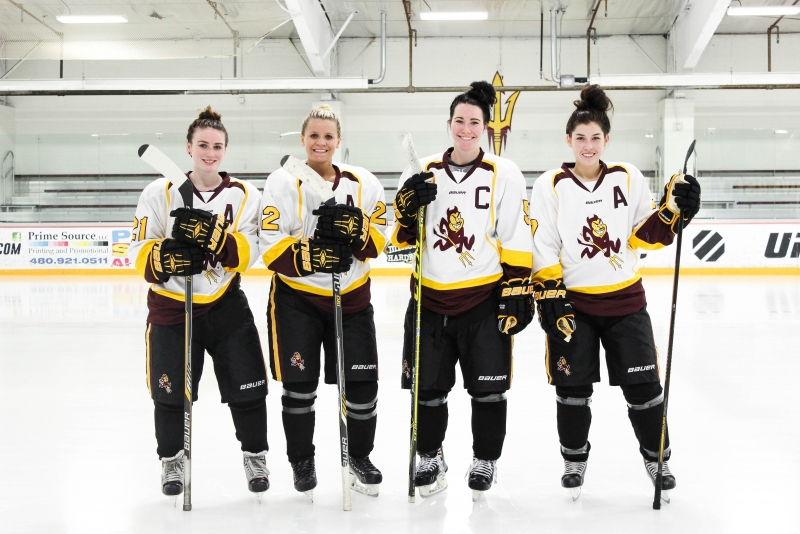Womens Hockey Captains