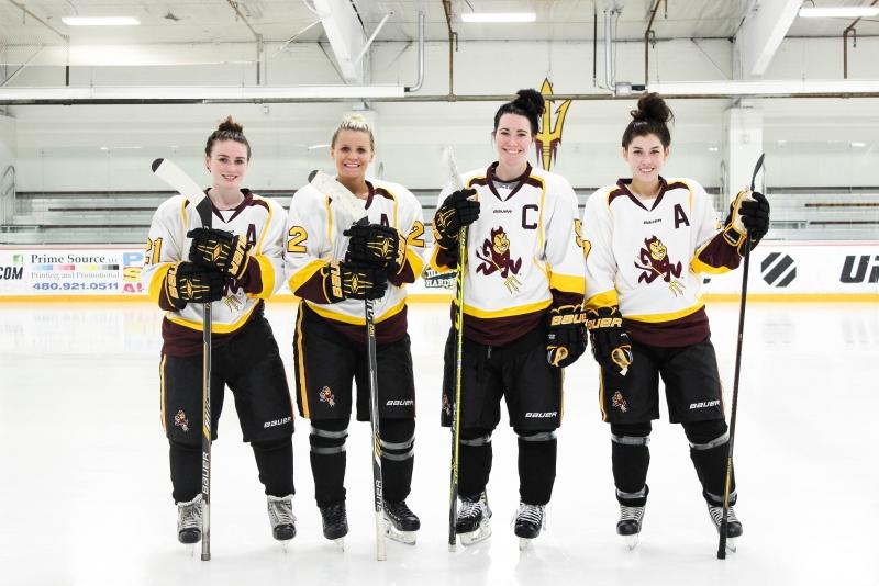 Womens Hockey Captains
