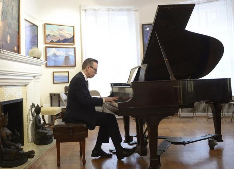 Jai Jeffryes Playing Piano