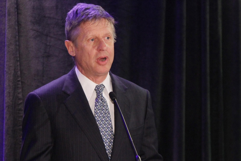 Gary Johnson, a triathlete, is 'extremely physically fit and healthy,' according to doctor's note