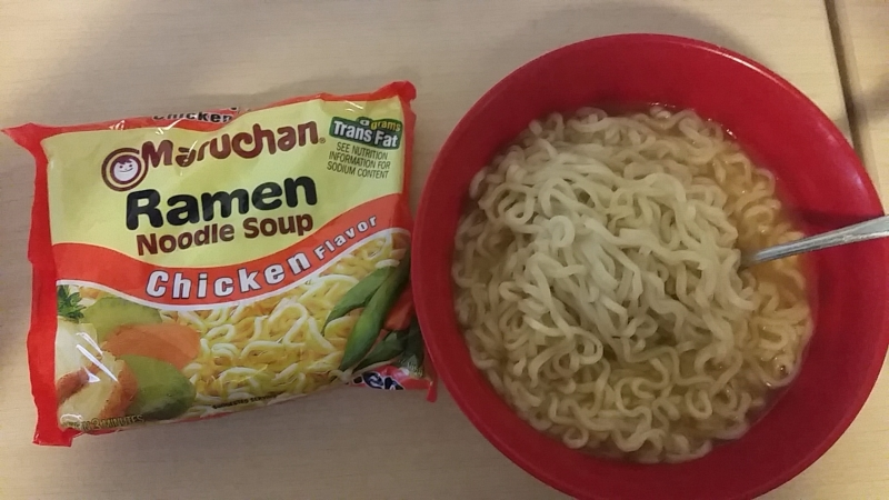 The First Meal- Ramen