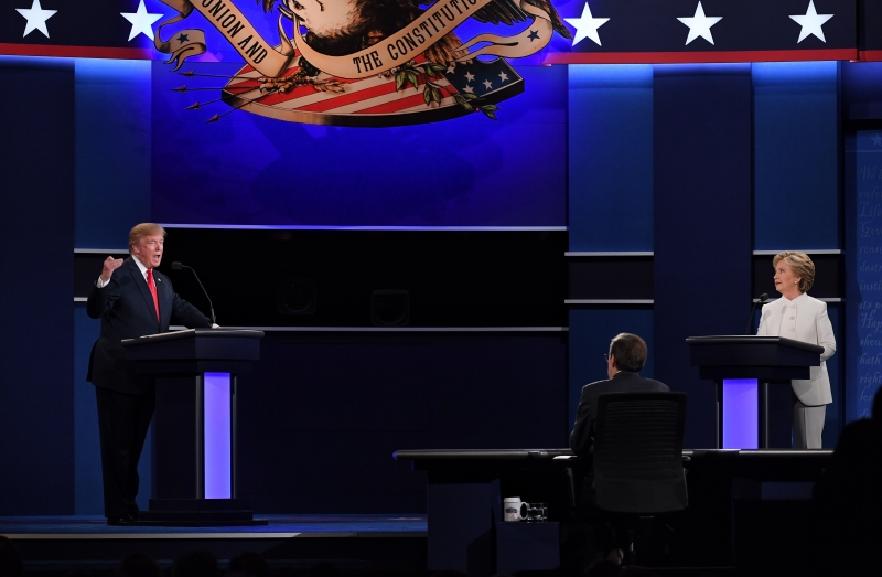 Clinton-Trump Third Presidential Debate