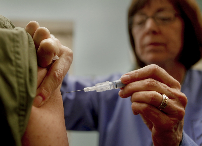 Getting a flu shot can be sticking point with health care workers