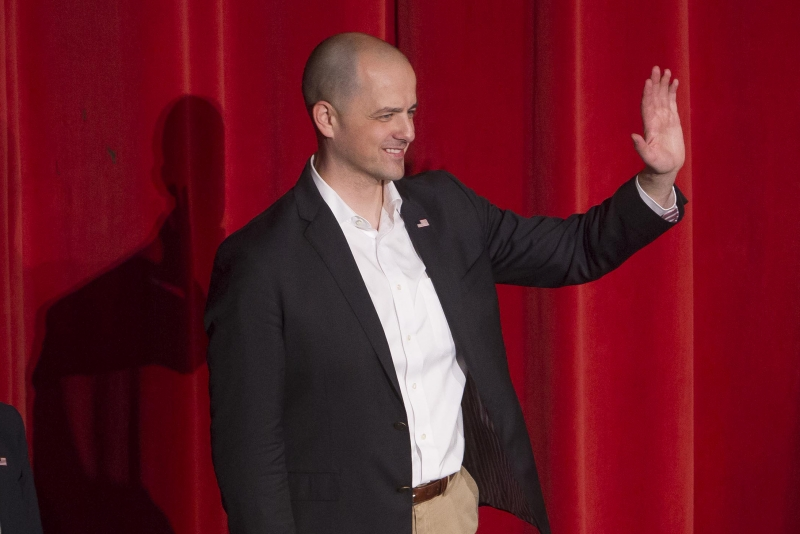 Independent candidate for president Evan McMullin campaigns in Idaho