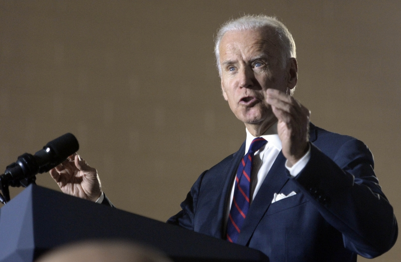 Vice President Joe Biden campaigns in Charlotte