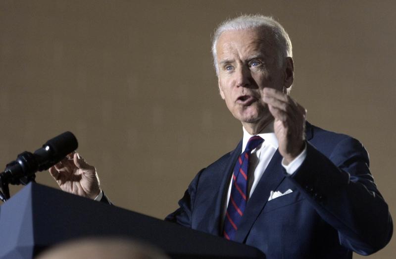 Vice President Joe Biden campaigns in Charlotte