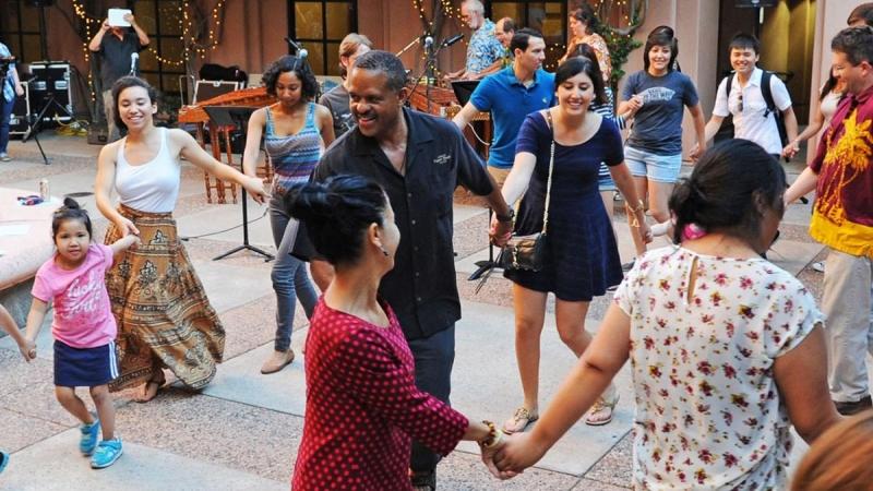 Dancing at Pachanga