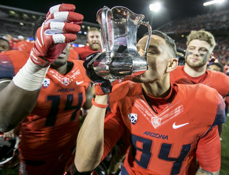 Photo Gallery: UA reclaims Territorial Cup, downing ASU 56-35