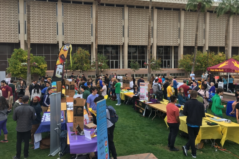 Spring Involvement Fair, Jan. 17, 2017 (2)