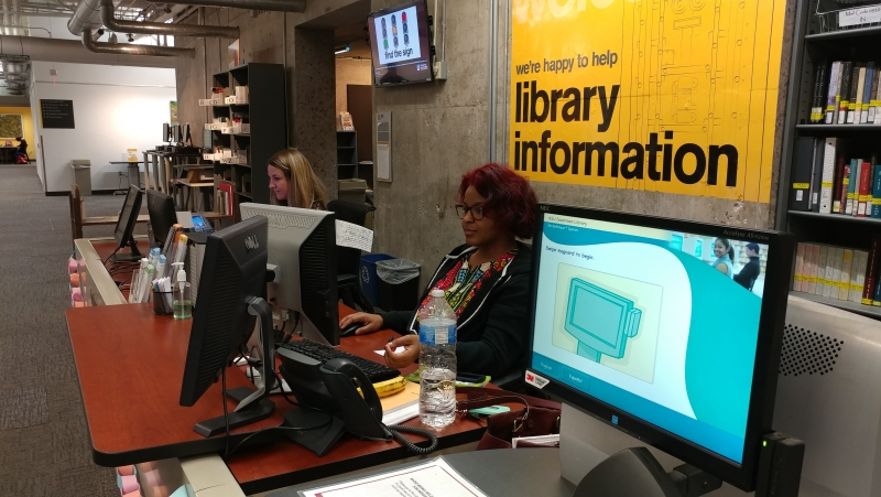 library workers