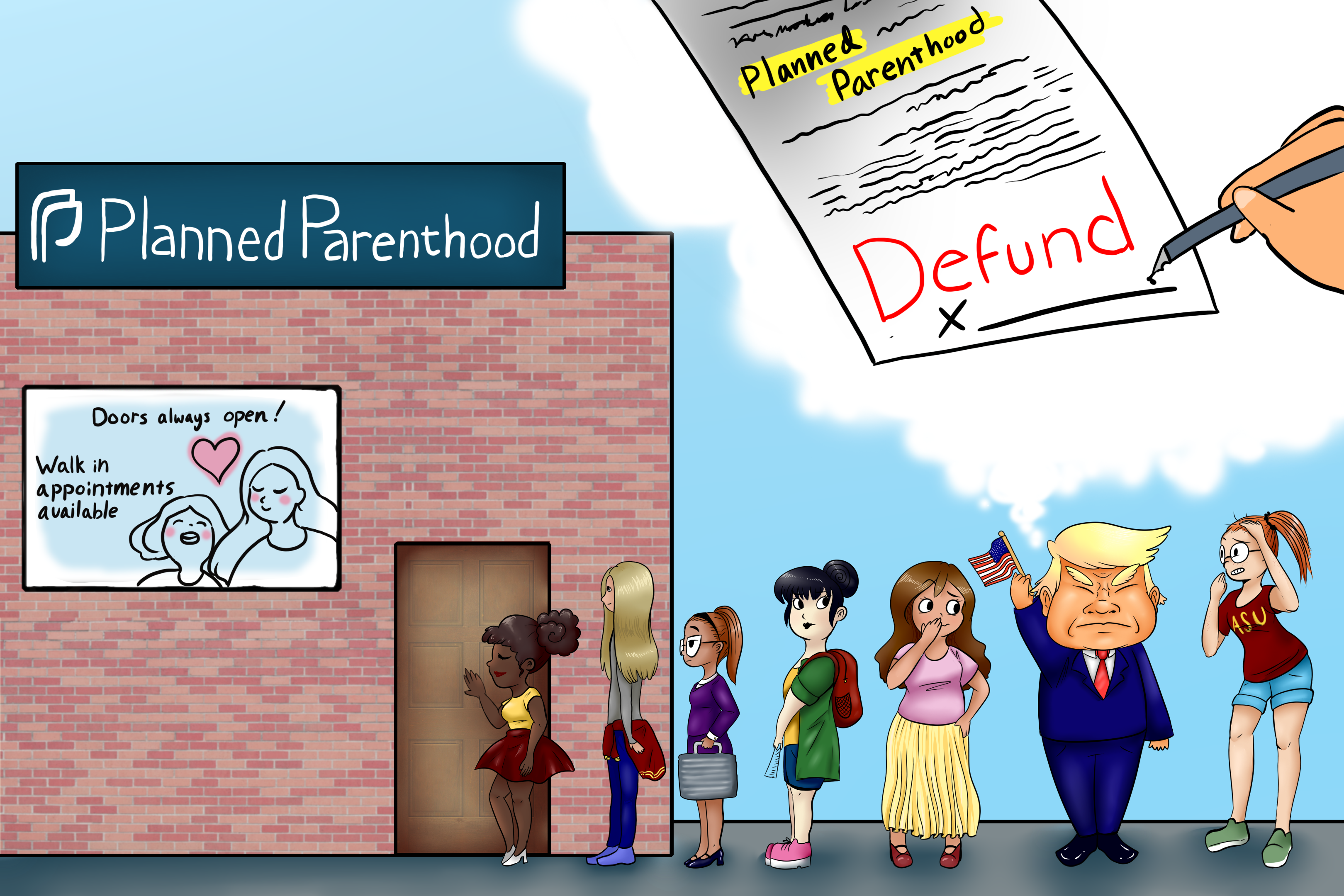 Defunding Planned Parenthood is bad idea