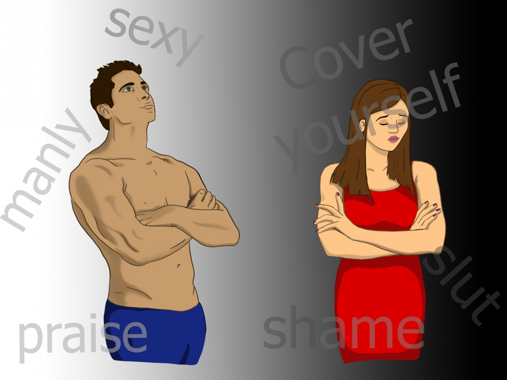 Male and female sexuality pictures