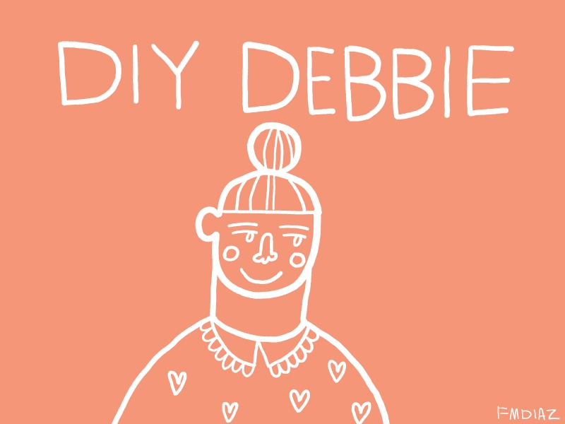 DIY Debbie Header