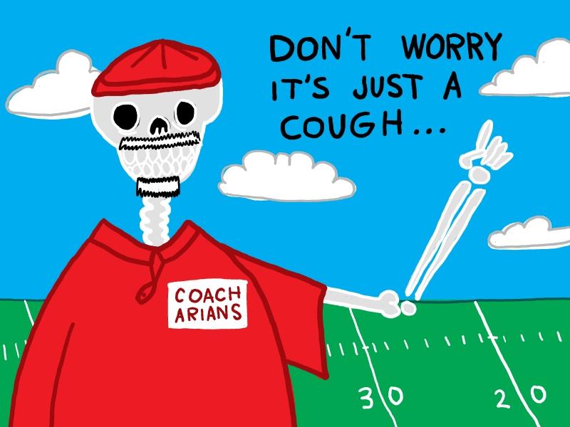Coach Needs to Retire