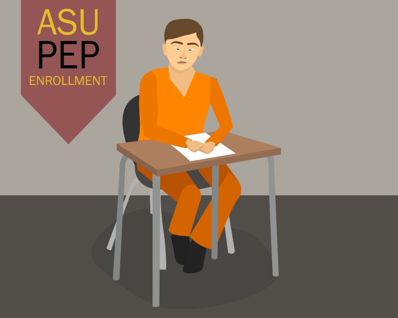 ASU Pep Program Graphic