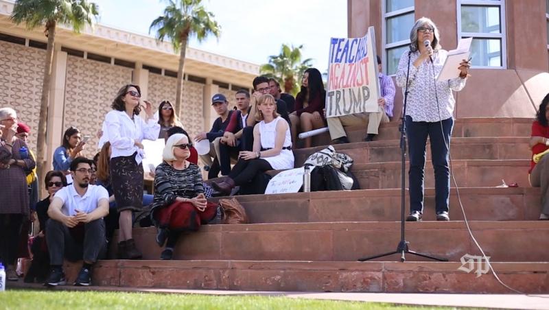 Academics United Rally