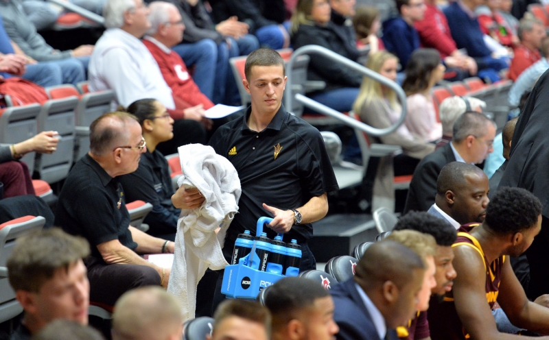 A Dynamic Duo: two team managers play crucial roles for ASU men's basketball