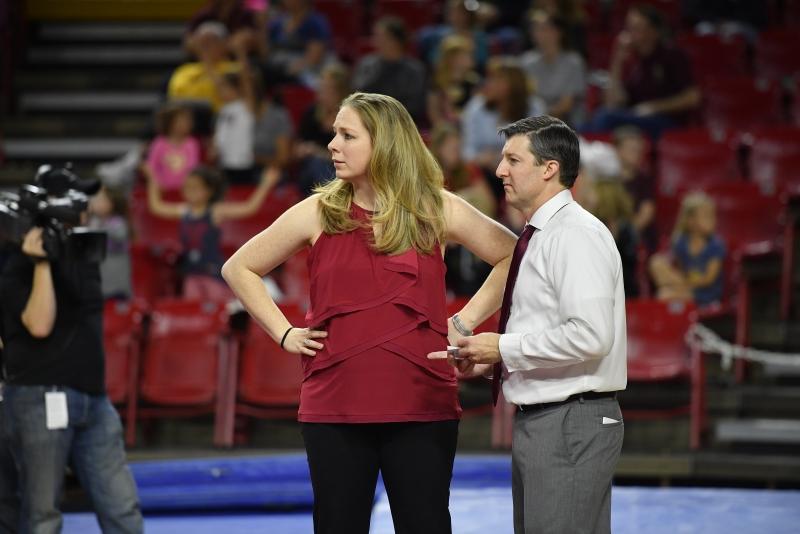 ASU gymnastics coaches flip priorities